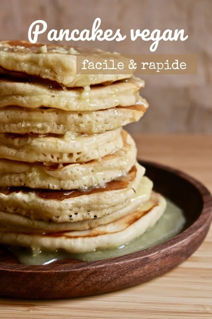 Pancakes vegan-rapide-facile