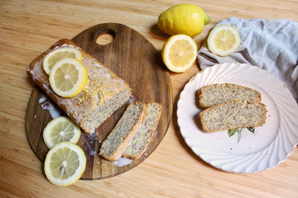 Gâteau moelleux au Citron et graines de pavot vegan