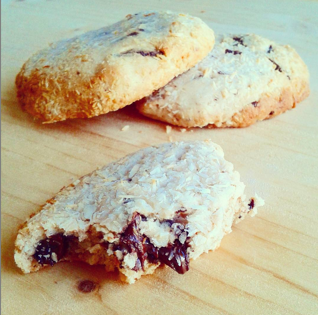 Cookie vegan choco coco