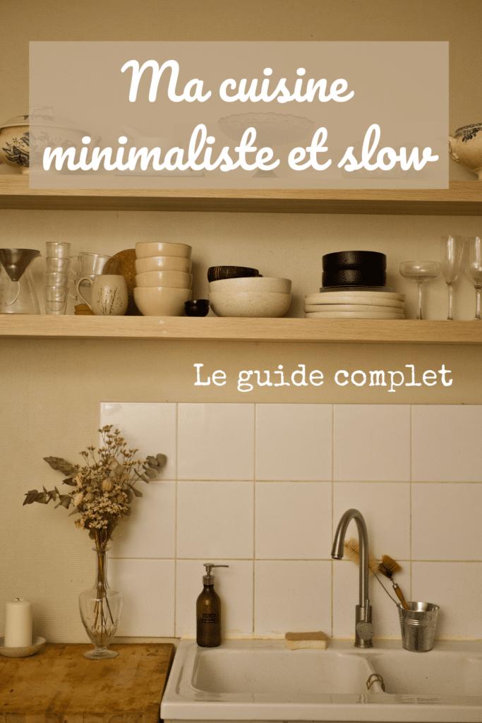 cuisine-minimaliste-trier-conseil-avis-experience-methode