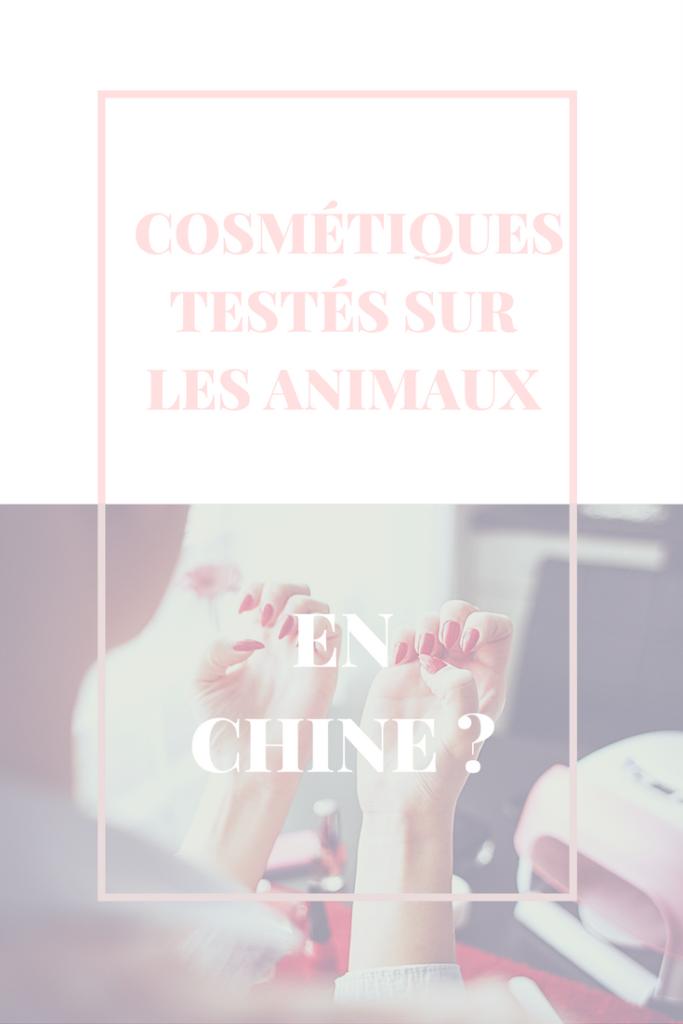 Cosmétiques et test sur les animaux : la Chine