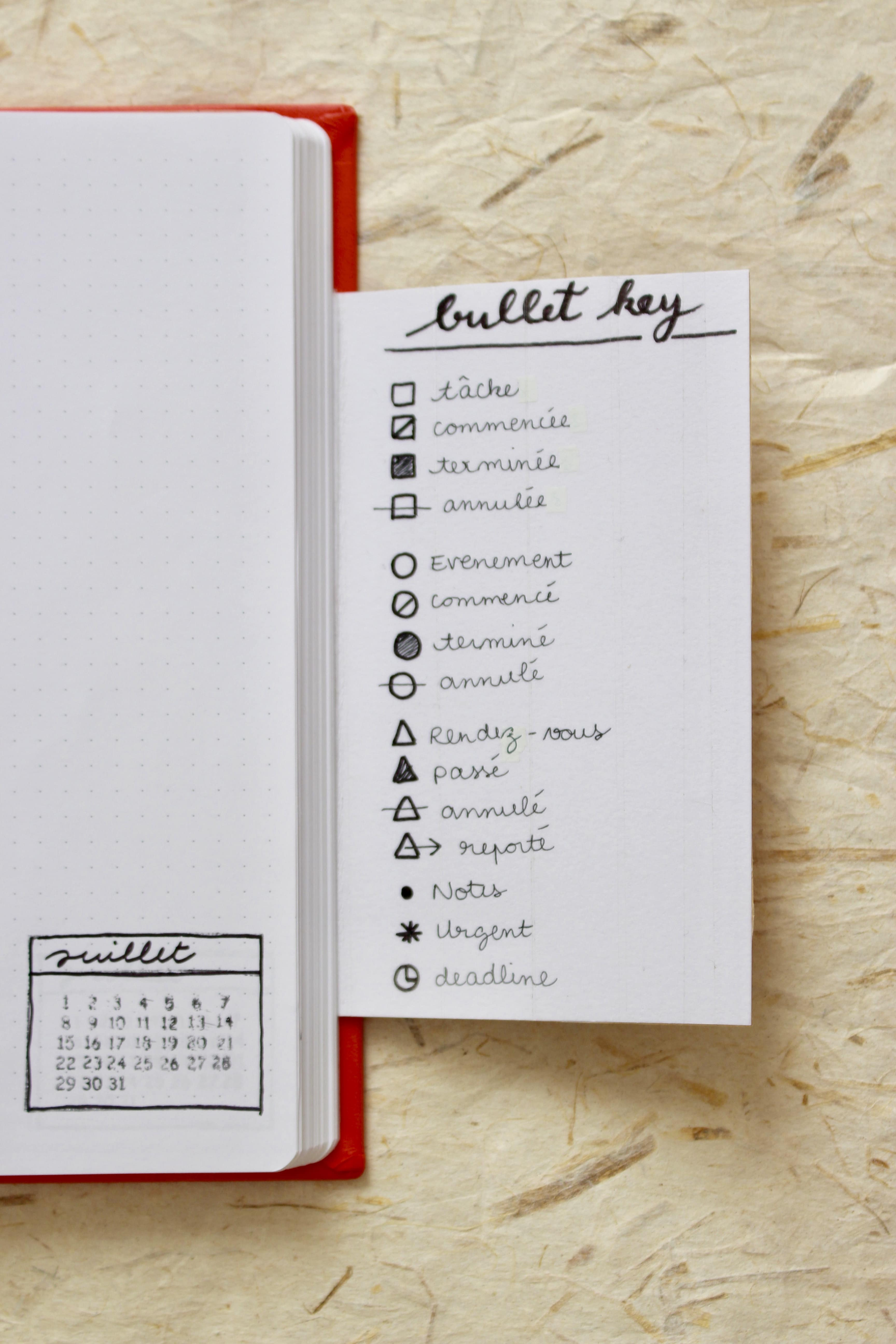 bullet-journal-exemple-key-code-organisation