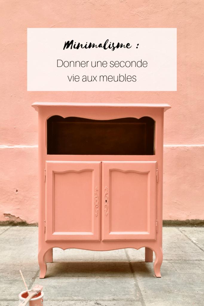 Minimalisme _ Donner une seconde vie aux meubles (1)