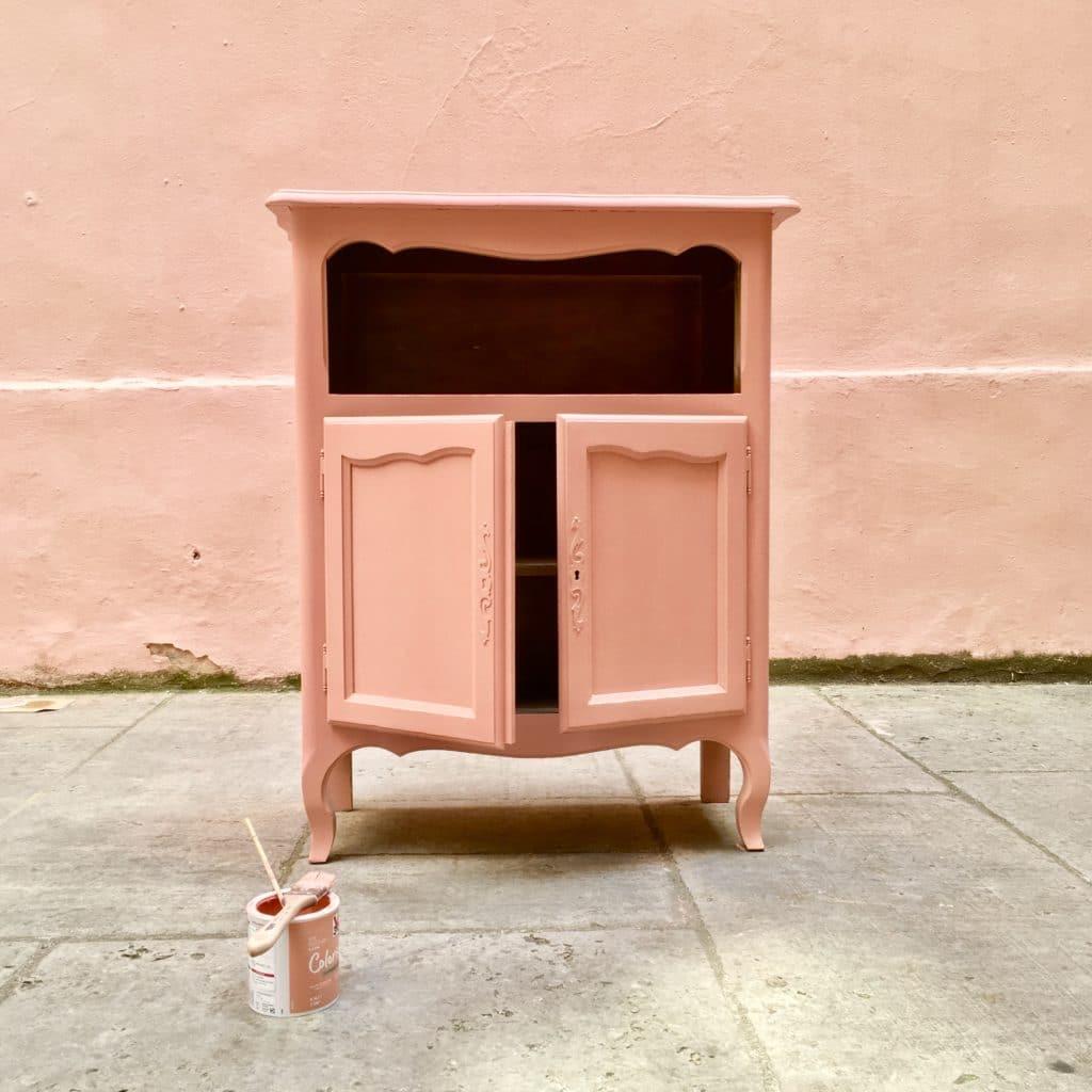 peindre-meuble-pastel-rose