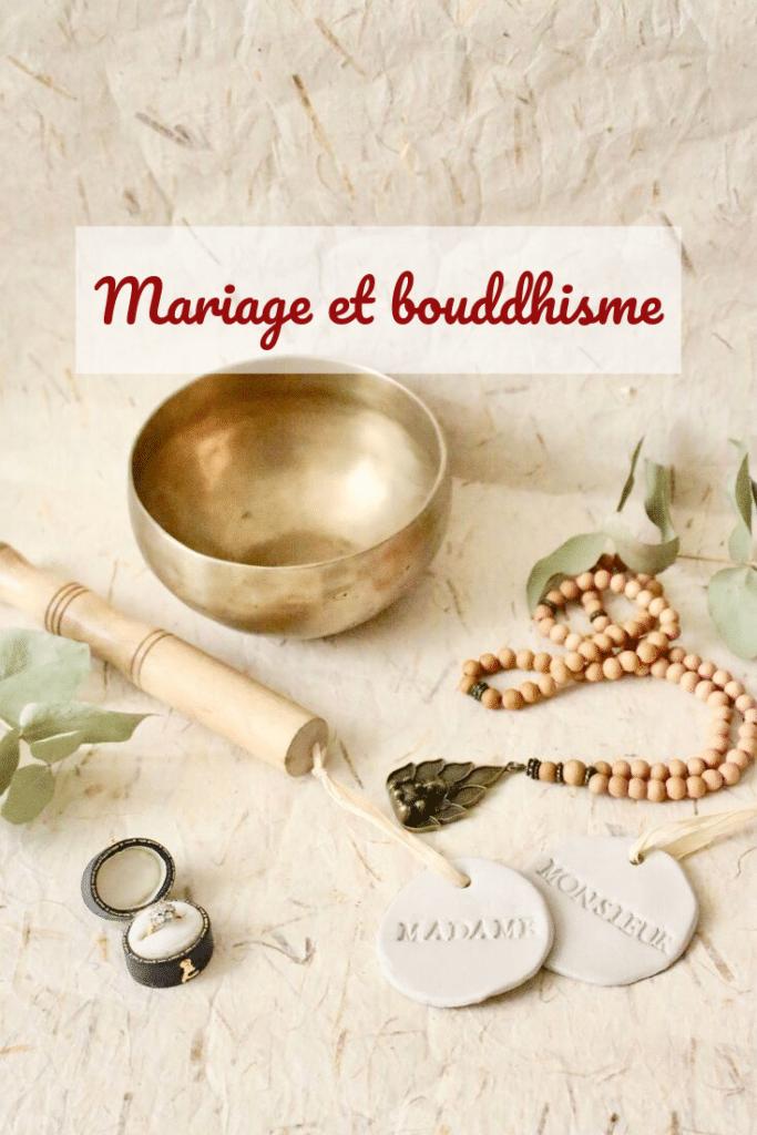 Mariage et bouddhisme