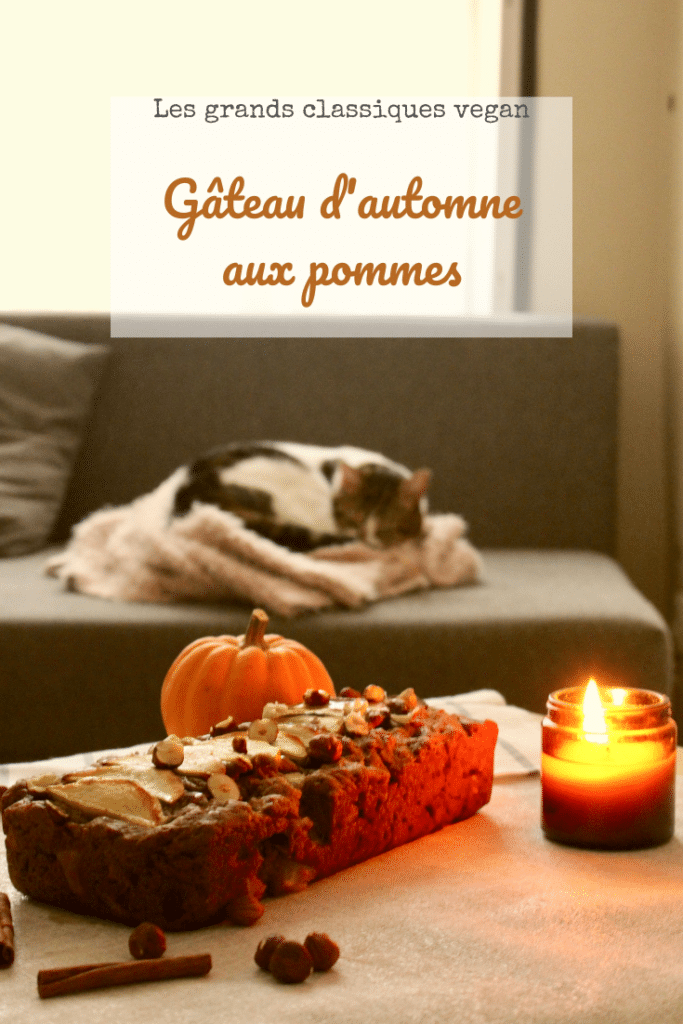 Gâteau d'automne aux pommes