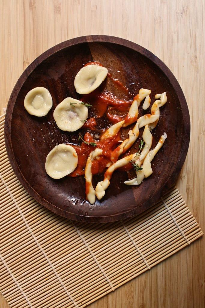 assiette-pâtes-maison-vegan-sans-oeufs