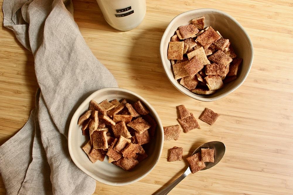 Céréales petit déjeuner croustillantes & vegan