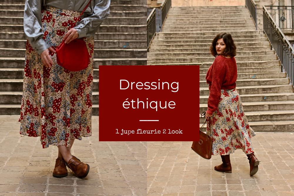Ethique ton look #3 : Une jupe et 2 saisons !